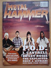METAL HAMMER 9/2002 P.O.D.,Def Leppard,Moonlight,Jerry Cantrell,Nightwish,RHCP