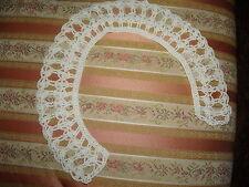 Civil War Reenactment Ladies Dress Crocheted Collar