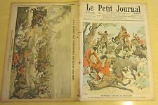 Le petit journal 1906 840 roi portugal chasse sanglier Lacarre reichshoffen