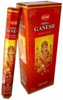 Hem Incense Sticks Ganesh Bulk 120 Stick for Cleansing Spiritual Blessings
