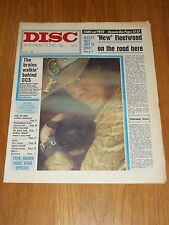 DISC AND MUSIC ECHO MAY 1 1971 FLEETWOOD MAC SHIRLEY BASSEY ELVIS JAMES TAYLOR