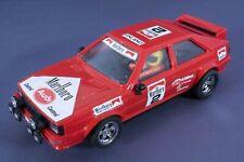 Adhesivo Audi Quattro Malboro Rojo, Exin, Scalextric, Triang, barniz original
