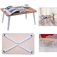 Foldable Portable Laptop Notebook Table Adjustable Stand Bed Tray Computer Desk