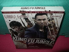 KUNG FU JUNGLE  - BLU-RAY + DVD + EXTRAS + LIBRO