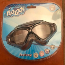 Stingray Adult Swim Goggles With Black Trim- H2O Go! Ages 14+,New Sealed Package