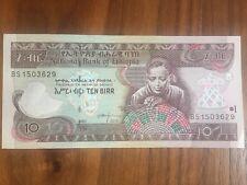 Etiopia Etiopia 10 etiopico 2007/2015 UNC casse fresco fresco Banca