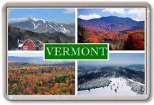 FRIDGE MAGNET - VERMONT - Large - USA America TOURIST