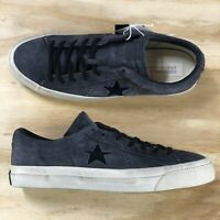 Converse X John Varvatos One Star Ox Beluga Black Casual Shoes (145381C) Size 9