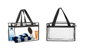 Tote Clear Shopping Storage Beach Travel Bag *NEW*