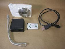 32GB SONY Digital Camera Cyber Shot DSC-WX350-W White Wi-Fi 18.2 MP Auto Focus