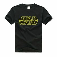 Star Wars Darth Vader StormTrooper Black Speckled Men's Graphic T-Shirt New