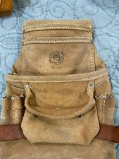 Construction leather Tool Bag