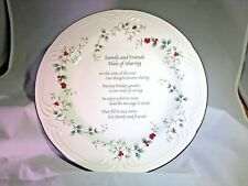 """Pfaltzgraff Winterberry Friends and Family 12 """"Plate of Sharing New In Open Box"""