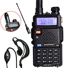 Baofeng UV-5R UHF 136-174MHz Two-Way Ham Radio Walkie Talkie + NA-701 Antenna