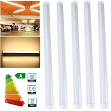 5x 1FT 300mm T5 5W LED Tube Light Home Office Integrated Ceiling Lamp Warm White