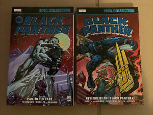 BLACK PANTHER EPIC COLLECTION PANTHER'S RAGE TPB REVENGE OF THE PANTHER KIRBY