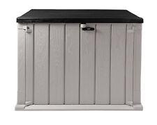Mülltonnenbox Storer Light XL 1330 L grau-anthrazit Gerätebox abschließbar NEU