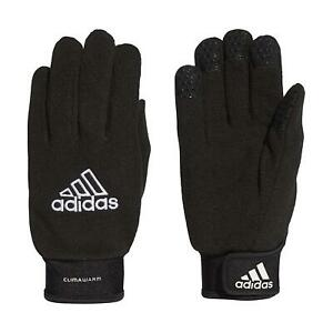 ADIDAS GLOVES BLACK CLIMAWARM ACTIVE RUNNING TEXTING FIELDPLAYER NWT