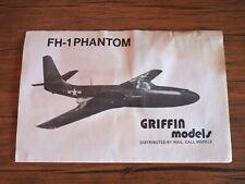 GRIFFIN Model FH-1 PHANTOM 1/72 scale VAC U FORM kit.