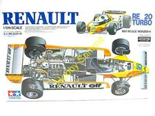 Discontinued Tamiya 1/12 RENAULT RE-20 TURBO F-1 w/ P-E Parts  Grand Prix  12033
