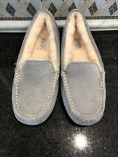 Women's UGG Gray Ansley Slippers- #3312- Size 6-#3312