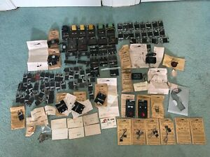American Flyer Huge Lot Parts/Accessories -track trips, pins, uncouplers, clips+