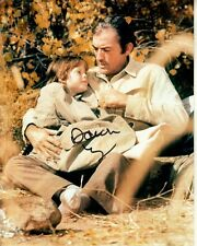 DAWN LYN hand-signed GREGORY PECK 8x10 COLOR WESTERN SCENE uacc rd coa SHOOTOUT