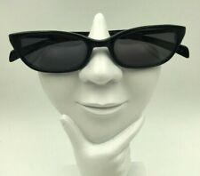 Vintage Tommy Hilfiger Ths 16851 Black Oval Sunglasses Hong Kong Frames Only