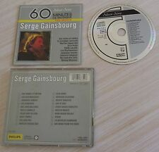 RARE CD ALBUM BEST OF SILVER SERIE SERGE GAINSBOURG 20 TITRES