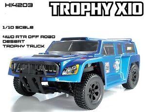 Desert Trophy Truck Electrical RC-540 1:10 Esc 150A 2.4GHZ 4WD Rtr HI4203