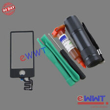 Replacement Black LCD Touch Screen Glass+UV Glue for iPod Nano 7th Gen 7 ZVLT541