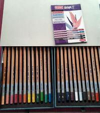 Bruynzeel crayons Tin couleur foncée Lot de 24 Bleu Design