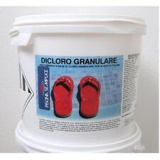 Dicloro Granulare cloro piscina  56% 10 Kg Per Piscine Lapi Azione Rapida