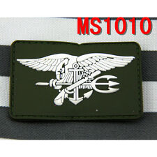 New Outdoor Sports PVC Tactical Military US Navy Seal Patch Combat Badge Patches