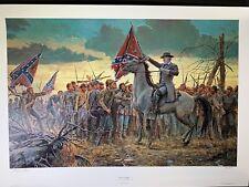 Mort Kunstler The Last Rally Limited Edition Civil War Print S/N 363/1000