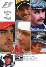 F1 HOW IT WAS DVD. 10 DRIVERS, ICONIC RACE MOMENTS 1984-2011. 90 Min DUKE 3727NV