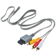 Audio Video AV Composite 3RCA Cable Cord Lead For Wii Console Super A0C9