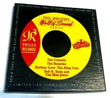 "Phil Spector's Wall Of Sound Series Vol 2 6x 7"" Box Red Vinyl Ronettes Bob B Sox"