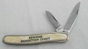 Mother Of Pearl Kewanee Production Credit Colonial USA Knife