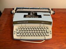 Smith Corona Coronet Super 12 Coronamatic Typewriter w/ Case Working Condition