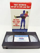 VHS - BEAT ARTHRITIS and Get On With Your Life CeCe Caldwell  5 Steps to Success