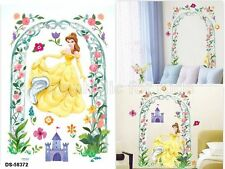 SFK Princess Belle Wall Sticker decals kids playroom room interior disney