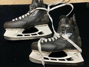 EVGENI MALKIN TRUE Penguins 10.5 DA Pro Stock Hockey Skates LS5 Steel BRAND NEW
