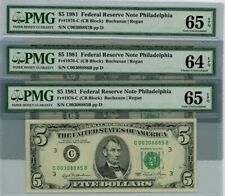1981 $5 US Federal Reserve Small Notes for sale | eBay