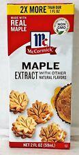 McCormick Maple Extract 2 oz