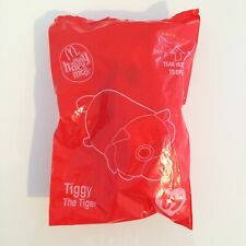 McDonalds Tiggy the Tiger TY Beanie Baby Happy Meal toy new sealed