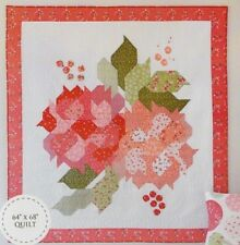 Blushing Blooms Quilt - pieced quilt PATTERN - Down Grapevine Lane