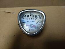 Peugeot Veglia Rare Bike Speedometer / Tachometer 60km