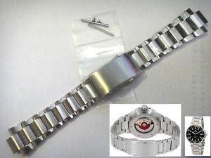 ORIS Aquis Diver St Steel band strap Bracelet 07 8 24 05PEB fits Ø43.5 GMT 7754