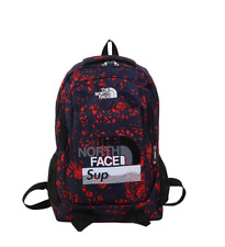 The North Face Backpack  travel, camping, lightweight computer Red color bag